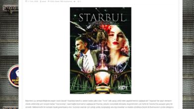 """Photo of Starbul Romanı, """"Yerli Bilimkurgu Yükseliyor"""" Web Sitesinde"""